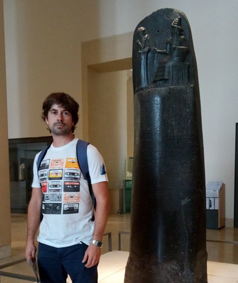 Pablo Garrido - Doctor en Arqueología